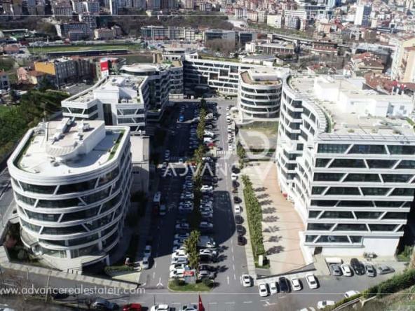 مشروع محلات ومكاتب للبيع في اسطنبول