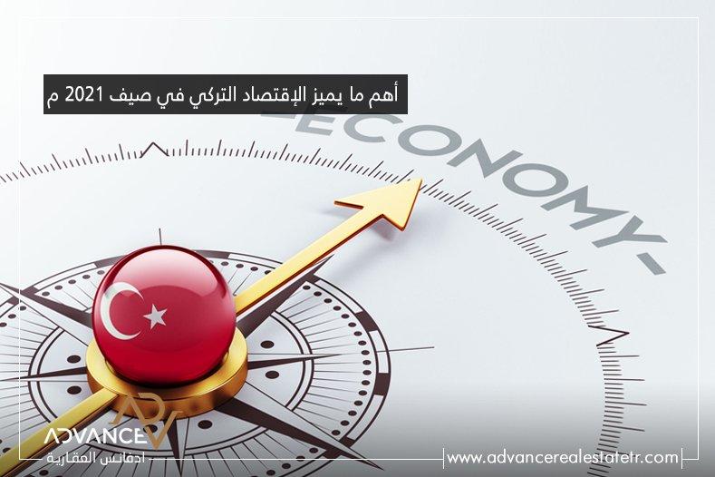ما يميز الإقتصاد التركي في صيف 2021 م الصفحة الرئيسية